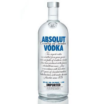 Absolut Blue 1 lt